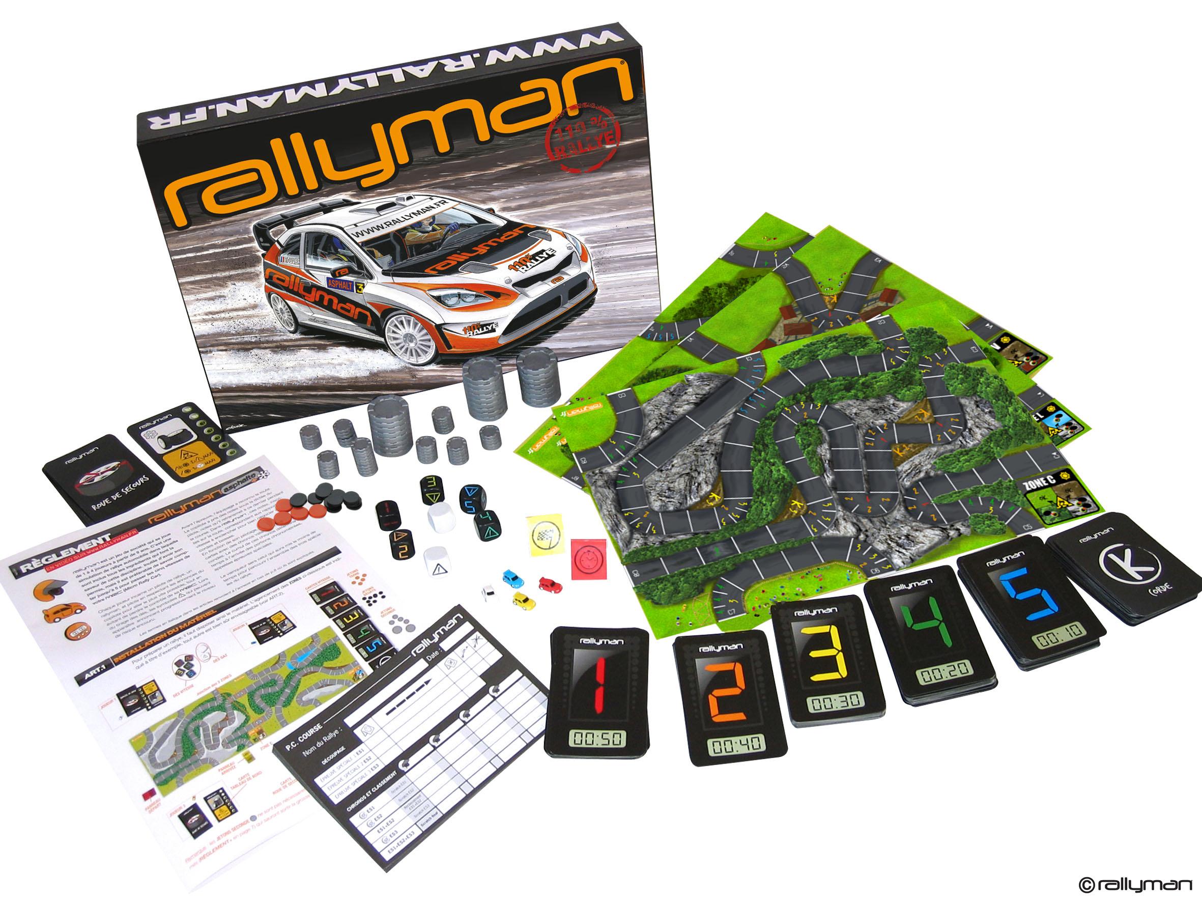 Rallyman - Contenu
