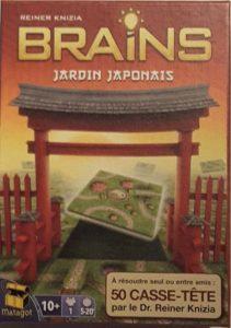 Boite du jeu BRAINS Jardin Japonais