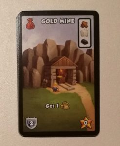 Dice City - CrossRoad : Nouvelle carte ressource la mine d'or